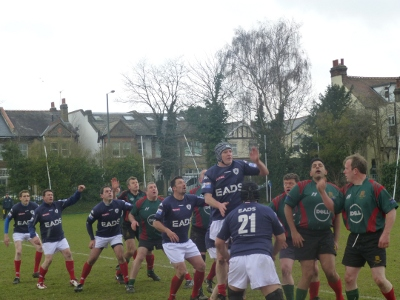 Match Angleterre-France du XV parlementaire