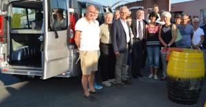 Philippe FOLLIOT et les membres de l'OMEPS d'Albi