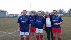 Philippe FOLLIOT aux côtés de Thierry BRAILLARD, Razzy HAMMADI, Philip CORDERY et Philippe VITEL