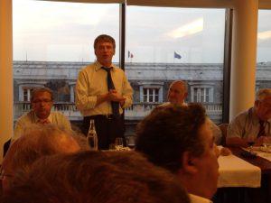 Philippe FOLLIOT autour de Pierre CAMOU, Président de la FFR, et de Pascal DELGUILHEM, Député de Dordogne