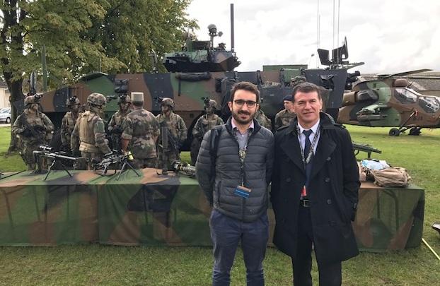 rencontre avec un militaire