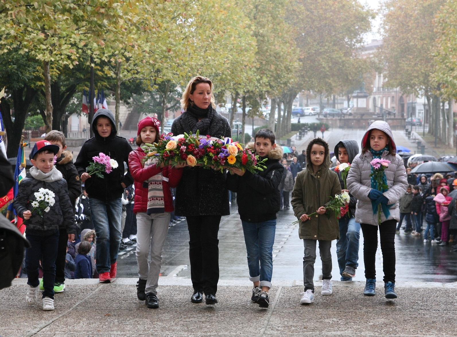 11 novembre : le député et sa suppléante honorent la mémoire des combattants
