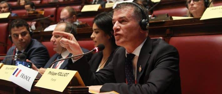 Le groupe spécial « Méditerranée et Moyen-Orient »  de l'AP-OTAN se réunit à Rome