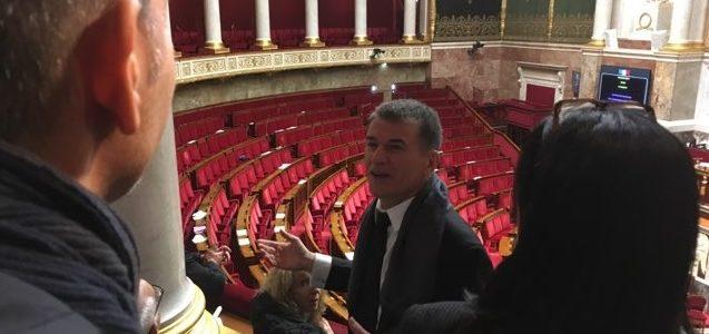 Les élus locaux du Tarn reçus au Parlement