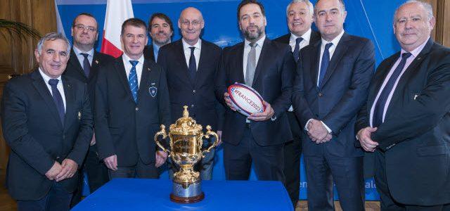 La Coupe du monde de rugby à l'Assemblée nationale !