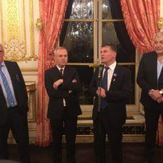 France 2023 : l'Amicale Parlementaire de Rugby reçoit Claude ATCHER