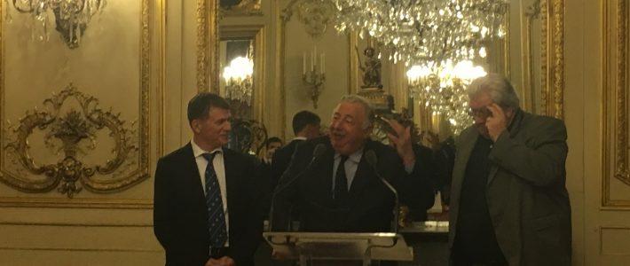L'Amicale Parlementaire de Rugby reçoit le Président de la Ligue