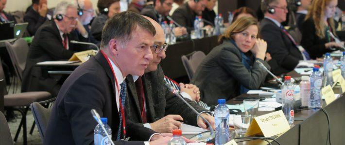 Philippe FOLLIOT à Bruxelles pour une réunion de l'Assemblée Parlementaire de l'OTAN