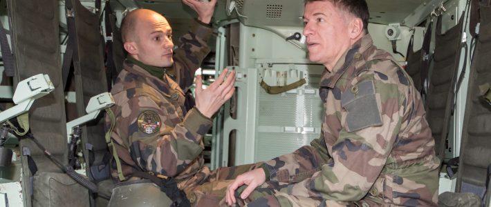 Philippe FOLLIOT à la rencontre des soldats Français en mission en Lituanie