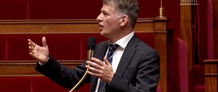 Philippe FOLLIOT en séance sur la Loi de Programmation Militaire 2019-2025
