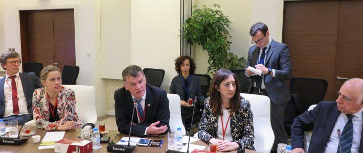 Philippe FOLLIOT au Qatar pour l'Assemblée parlementaire de l'OTAN