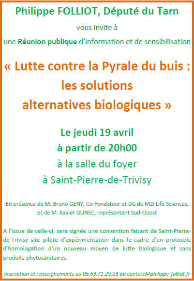 Lutte contre la pyrale du buis les solutions alternatives biologiques philippe folliot - Lutter contre la pyrale du buis ...