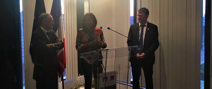 L'Amicale Parlementaire de Rugby reçue par la Ministre des Sports