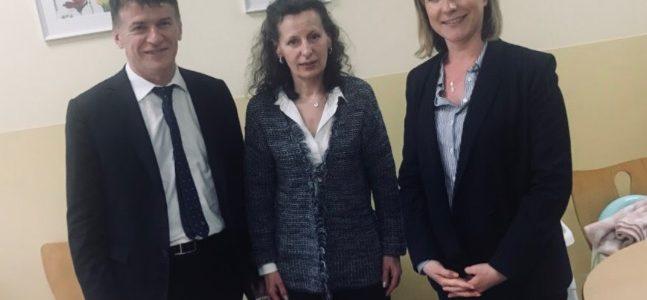 Philippe FOLLIOT et Muriel ROQUES ETIENNE visitent la Maison des Femmes à Albi