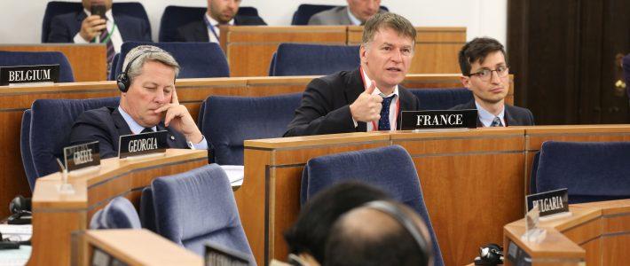 Philippe FOLLIOT participe à la session de printemps de l'AP-OTAN à Varsovie