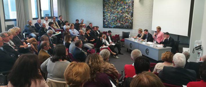 EHPAD : réunion de travail avec les professionnels tarnais du secteur  et la rapporteure de la mission flash