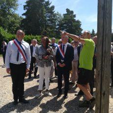 Retour sur la venue de Laura FLESSEL, Ministre des Sports, dans le département du Tarn