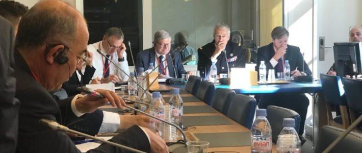 Philippe FOLLIOT participe à la réunion de la sous-commission sur les relations économiques transatlantiques de l'Assemblée Parlementaire de l'OTAN au Sénat
