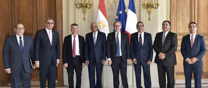 Philippe FOLLIOT rencontre le Président de la Chambre des Représentants de la République arabe d'Egypte