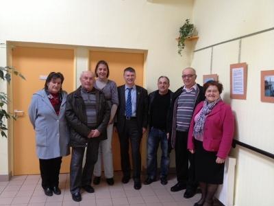 Philippe FOLLIOT visite la MARPA de Villefranche-d'Albigeois