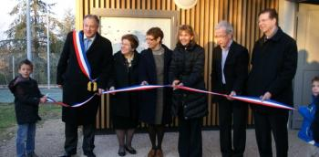 Inauguration de l'école primaire d'Orban