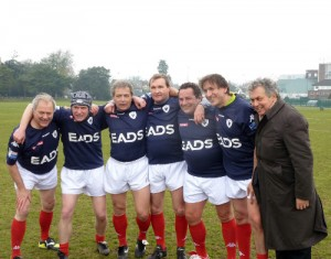 match XV parlementaire Londres