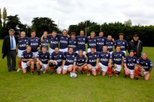 XV Parlementaire vs WANDERES FC RUGBY DUBLIN 18 mai 2013