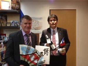 Philippe FOLLIOT et Monsieur Tetsuya TOGO, député japonais à la chambre des représentants