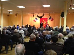 Philippe FOLLIOT, accompagné de sa suppléante, Gisèle DEDIEU, présente ses vœux au Parc des expositions.