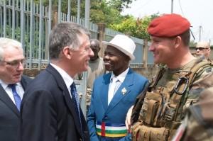 Visite Libreville Bangui 17 février 2014 (19)