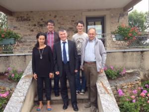 Philippe FOLLIOT et les élus d'Arifat