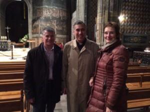 visite cathedrale députée allemande