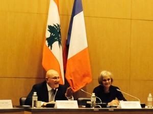 réunion avec M. Tammam Salam, Président du Conseil des ministres de la République libanaise