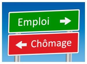 """Panneaux """"Emploi"""" et """"Chômage"""""""