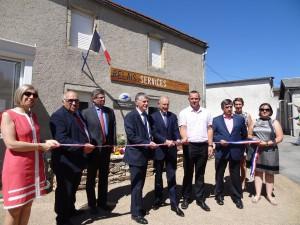 Inauguration du relais des services publics de Saint-Pierre de Trivisy