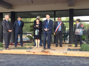 Philippe FOLLIOT à l'inauguration du foyer NANCY BEZ