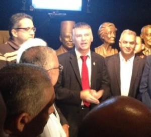 Philippe FOLLIOT à l'inauguration du musée d'Abou Simbel