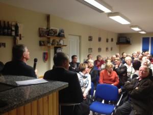 Philippe FOLLIOT et adhérents de l'association Agir pour Demain