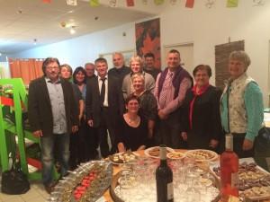 Philippr FOLLIOT rencontre des producteurs des terroirs tarnais au CIVAM