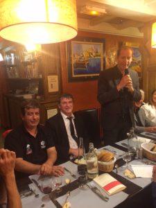 Philippe FOLLIOT aux côtés de Christian PRUDHOMME, Directeur du Tour de France