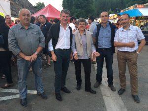 Philippe FOLLIOT à la fête de Murat-sur-Vèbre