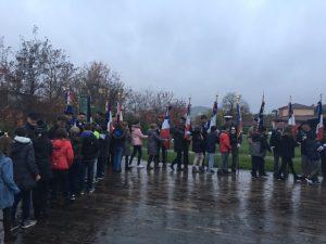 Cérémonie de commémoration de l'Armistice à Puygouzon