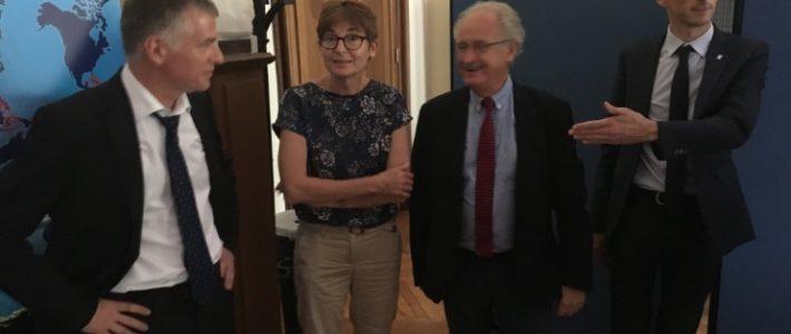 Philippe FOLLIOT participe à la première réunion de la mandature du Conseil Consultatif des TAAF