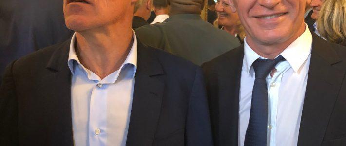 Philippe FOLLIOT à l'Élysée pour célébrer les champions du monde !