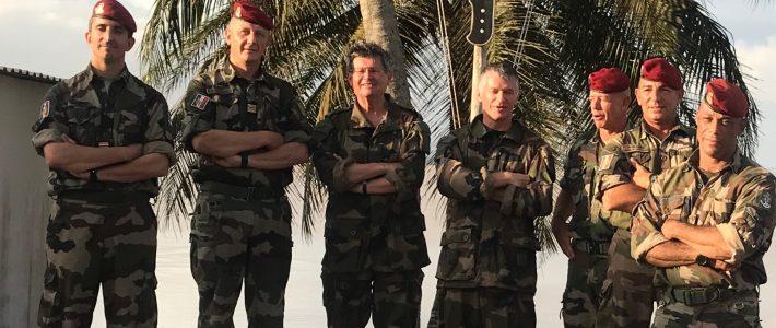 Philippe FOLLIOT en déplacement en Côte d'Ivoire à la rencontre des militaires Français