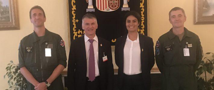 Philippe FOLLIOT en déplacement à Lisbonne et Madrid dans le cadre de l'Assemblée parlementaire de l'OTAN