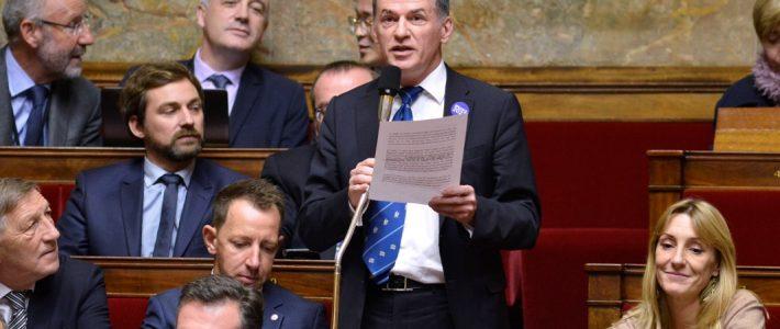 Philippe FOLLIOT en séance dans le cadre du Projet de loi de finances 2019 et des crédits de la mission « Outre-mer »