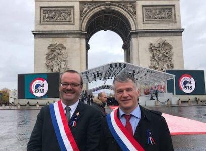 Philippe FOLLIOT participe aux cérémonies de commémoration du Centenaire de la fin de la Première Guerre Mondiale