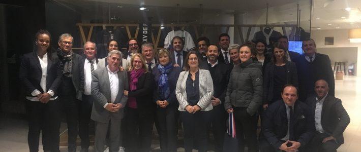 «Le rugby au féminin» mis à l'honneur au Centre National de Rugby à Marcoussis