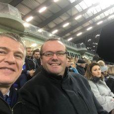 Castres Olympique / SU Agen: en tribunes, le match des parlementaires